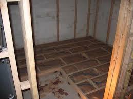 Floating Floor For Basement by Floating Floor Floating Floor Around Door Frames Youtube