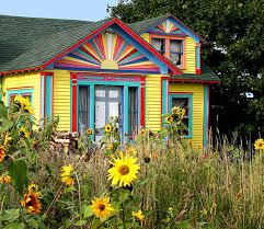 Sunflower House In Eastport Maine photo  Shu photos at pbasecom