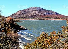 Oklahoma mountains images Mount scott and lake lawtonka in wichita mountains of oklahoma