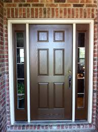 Home Doors by Doors With Sidelights Home Exterior Painting Brown Front Door