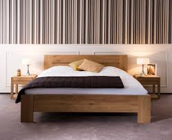 Teak Bed Ethnicraft Horizon Teak Bed