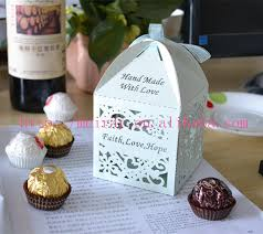 Wedding Candy Boxes Wholesale Wedding Sweet Box Cake Shape Wedding Souvenirs For Guests