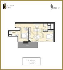 Floor Plan Studio Type Studio One D U0026b Properties