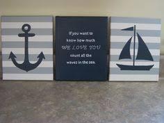 Sailboat Decor For Nursery So Nautical Nursery Wall Decor Boy By