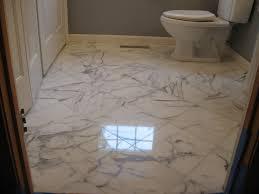 bathroom marble floor restoration in boxborough ma