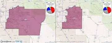 Arizona Congressional District Map by Arizona Congressional District 5 2011 2001 Comparison