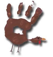 paper crafts for children thanksgiving print turkey