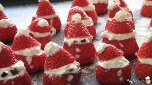 cuisine noel fraises père noël yopyop apprendre la cuisine amusante