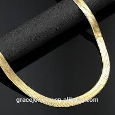 aliexpress buy wedding gifts18k gold plated wide gold plated chain necklace for men gold plated chain necklace for