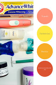 Travel Toiletries images Travel toiletries the most basic basics adventures with sarah png