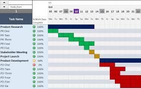Excell Gantt Chart Template 28 Gantt Chart Template Xls How To Create A Half Decent Gantt