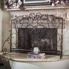 decorative fireplace screens wrought iron cpmpublishingcom