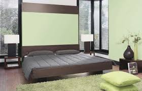 green brown paint color for master bedroom with brown furniturew
