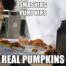 Pumpkin Meme - smashing pumpkins real pumpkins chico state meme pumpkin drop