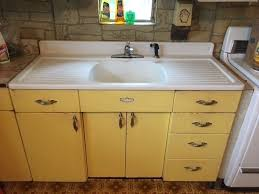 metal kitchen sink cabinet for sale youngstown kitchen cabinets by mullins vintage retro sink