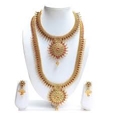 ladies necklace sets images Gold necklaces for women clipart jpg