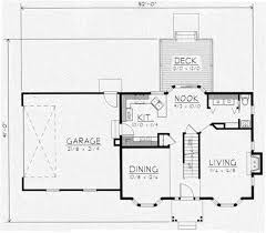 colonial style house plan 3 beds 2 5 baths 1439 sq ft plan 112