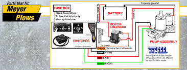 meyer plow wiring diagram wire vision enjoyable snow plows 9 newomatic