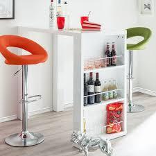 bartisch küche hochglanz weiss modernen apartment design ideen beige farbe für