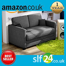 Sofa Bed Amazon by Fantastic Boom 2 Seater Sofa Bed In Fabric 9 Colours Available