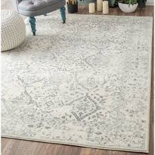 Grey Area Rug 8x10 Dorothea Ivory Gray Area Rug Room Rugs Ivory And Living Rooms