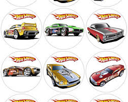 hot wheels cake toppers hot wheels etsy