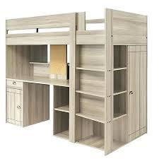 lit mezzanine avec bureau intégré lit a etage avec bureau lit lit mezzanine avec bureau integre