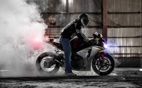 cbr sport bike honda cbr 1000rr superbike sportbike honda bike smoke burnout hd