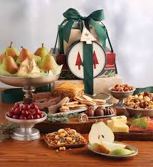 Holiday Food Gifts Grand Holiday Tower Of Treats Gift Holiday Food Gifts Harry U0026 David