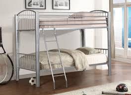 donco kids metal twin over twin bunk bed wayfair