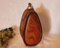 Wooden Flasks Antique Flask Etsy