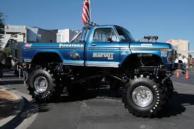monster truck bigfoot bigfoot gargling gas