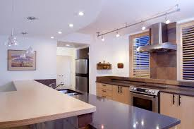 track lighting in the kitchen use linear track lighting in your home interior fabrizio design