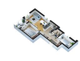 modern apartment 3d floor plan u2013 viscato