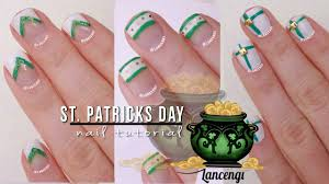 diy cute u0026 easy nail art for beginners 28 st patricks day