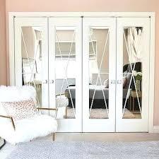 Bifold Closet Doors Menards Mirror Closet Doors Openpoll Me