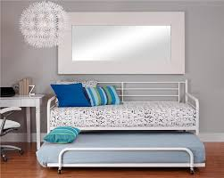 Metal Daybed With Trundle Dhp Furniture Trundle For Daybed