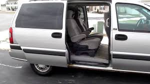 Chevy Venture Interior 2004 Chevrolet Venture Lt Power Sliding Doors Youtube