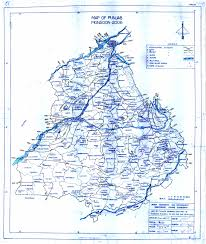 Punjab Map Department Of Irrigation Government Of Punjab