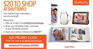 shutterfly black friday 2017 kellogg u0027s family rewards possible 20 off 20 at shutterfly