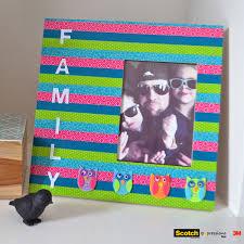 kid u0027s craft picture frame inspiration that sticks