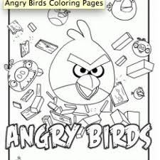 angry birds coloring pages monkeys angry