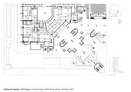 national theatre floor plan gallery of national theatre haworth tompkins 24