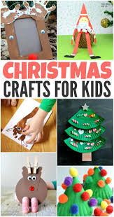 40 creative christmas crafts for kids creative holidays and craft