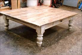 farmhouse coffee and end tables coffe table teak small square pallet wood rusticee and end tables