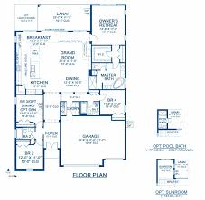 biscayne a new home floor plan at lakeshore ranch 65 u0027s by homes