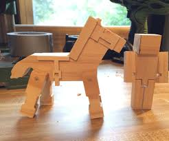 how to m how to make wooden minecraft toys 8 steps with pictures