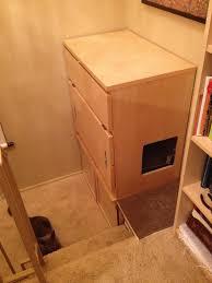 Ikea Litter Box Cabinet Malm Cat Cabinet Ikea Hackers Ikea Hackers