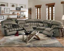 Contemporary Reclining Sectional Sofa Recliner Sectional Sofas Intended For Property Black Sofa Sf 6001