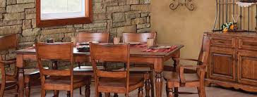 Amish Dining Room Furniture Amish Made Diningroom Furniture Homestead Amish Furniture